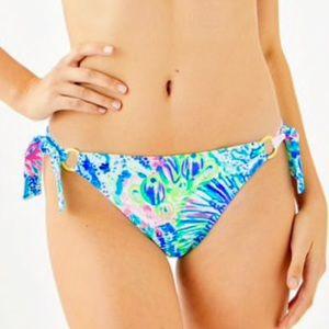 Lilly Pulitzer Laelia Tie Bikini Bottom 14 NWT